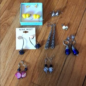 Eclectic Earring Mix (9 sets)